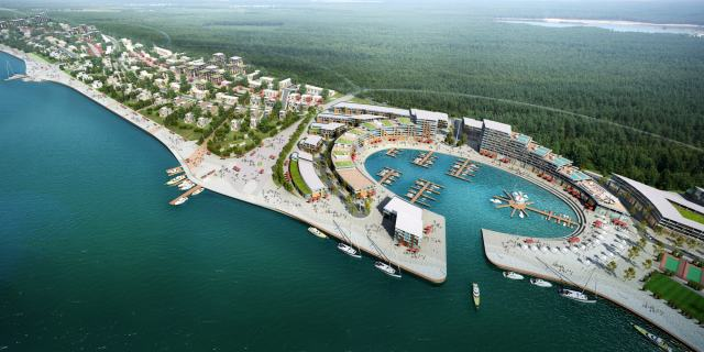 Cost consulting for construction of Tver Marina Village